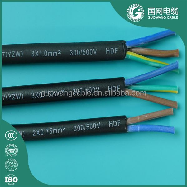 450/750V Flexible Rubber Sheathed Cables 4 Core 2.5mm H07rn-F Wholesale IEC Standard UAE
