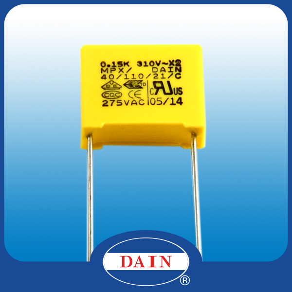 Class X2 Interference suppression MPX capacitor price for 0.001uf to 1uf capacitor mfd