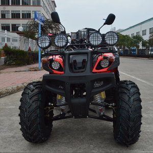 Shaft drive water cooled engine 250cc atv with air shock