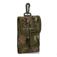 Military Equipment Accessories , Camouflage Combat Cell Phone Case / Army Mobile Pouch / Tactical Mobile Bag for Sale