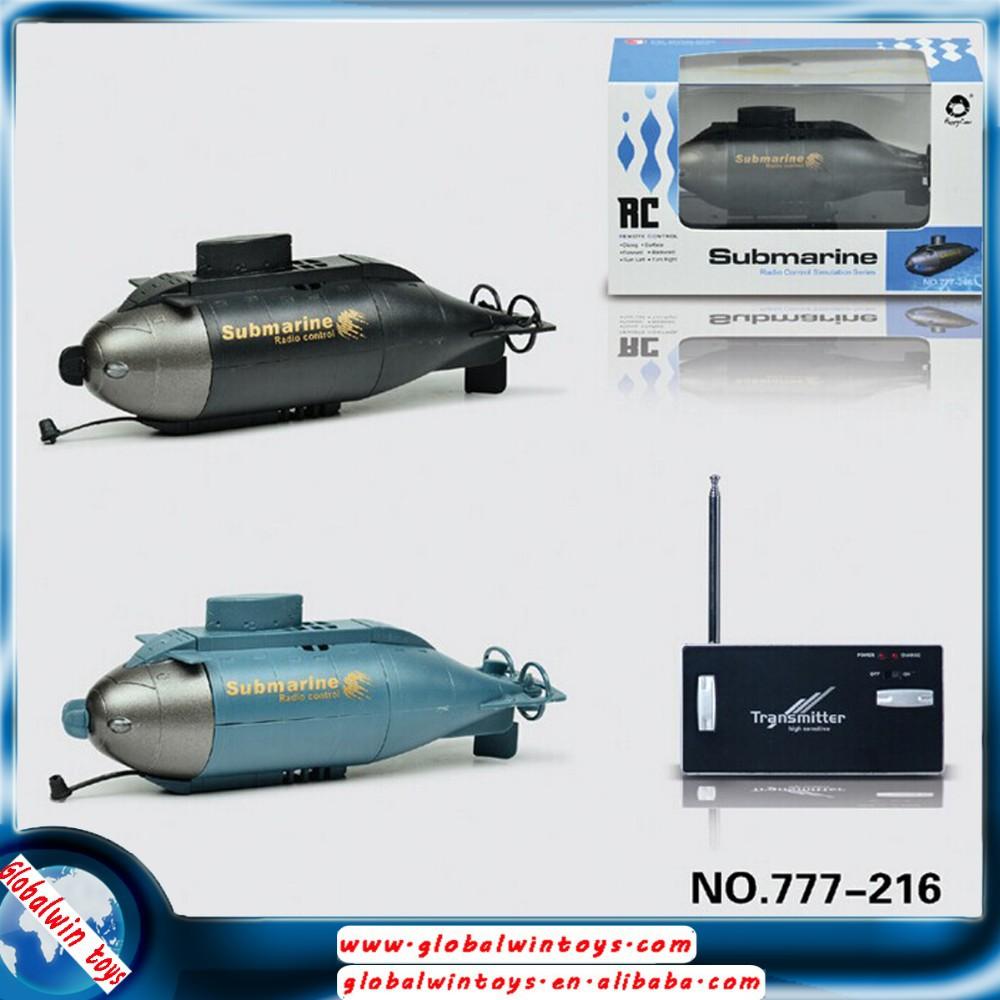 newest mini underwater toy gw t777 216 6ch rc submarine toy remote