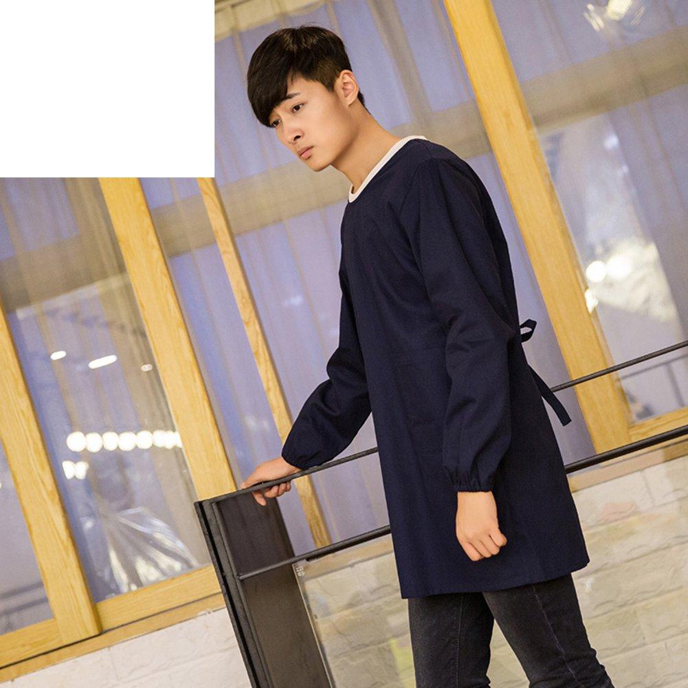 TRE apron/Waterproof smock apron/Adult smock apron with long sleeves and waterproof smock apron-A