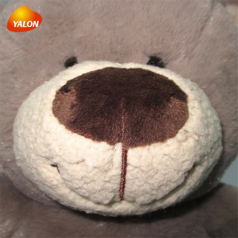 Factory sale high quality brown plush animal teddy bear toy