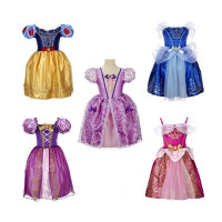 Wholesale Custom fairy Princess Dress Costume for kids baby girl wonderful princess dress PGCC-2028