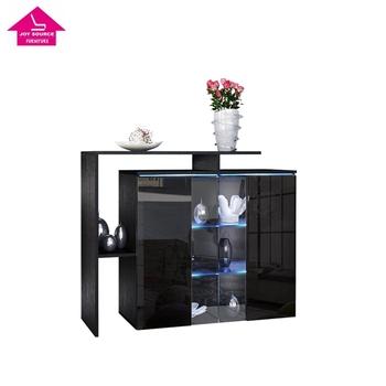 Lots High Gloss Wooden Handles Divider Mdf Pvc Sun Cabinet Furniture
