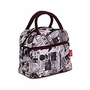 Fashion Lancheira Lunch Bags Fl Bag For Women Waterproof Box S A4739