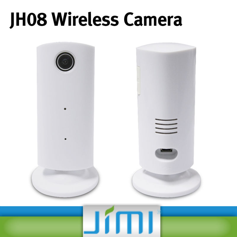 JIMI Gsm Sms Home Burglar Security 32G TF Card Slot Mini P2P Wifi Wireless HD Camera With Free App JH08