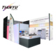Visual Impact Tension Fabric Backlit Magnetic Floating Display Photo Exhibition Stall Stands