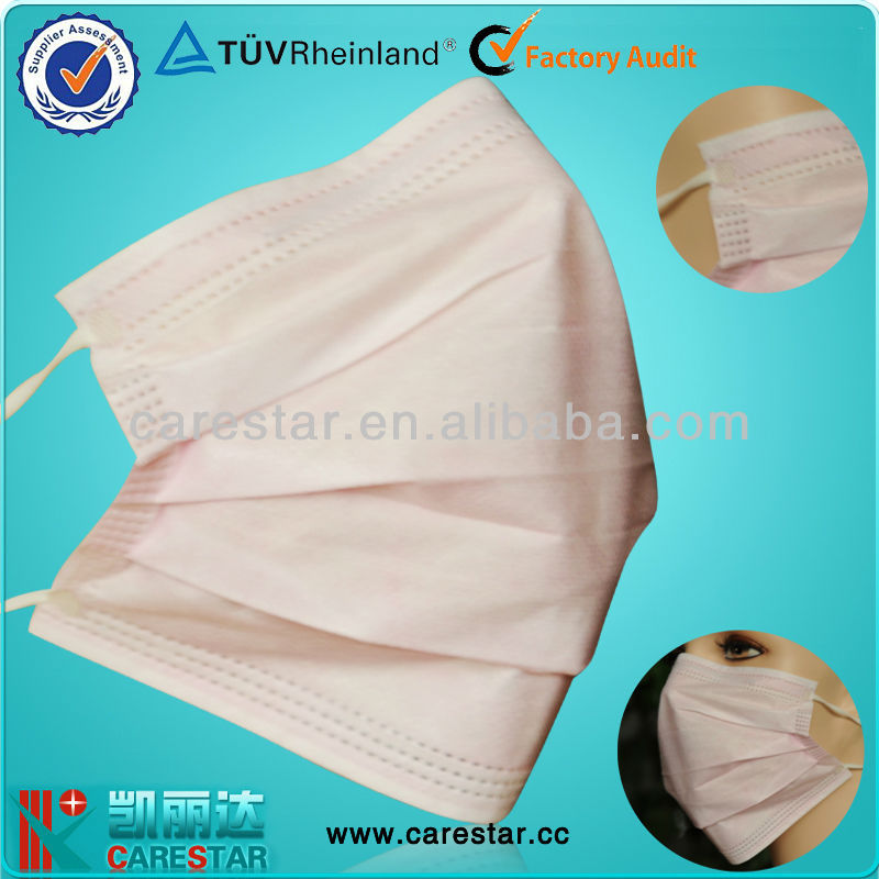 Non woven surgeon covering mouth, hospital mouth cover
