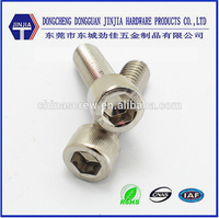 China China DIN912 stainless steel socket cap allen bolts