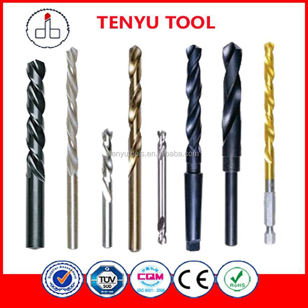 High quality professional manufacturer guangzhou city hss taper shank twist drill bits