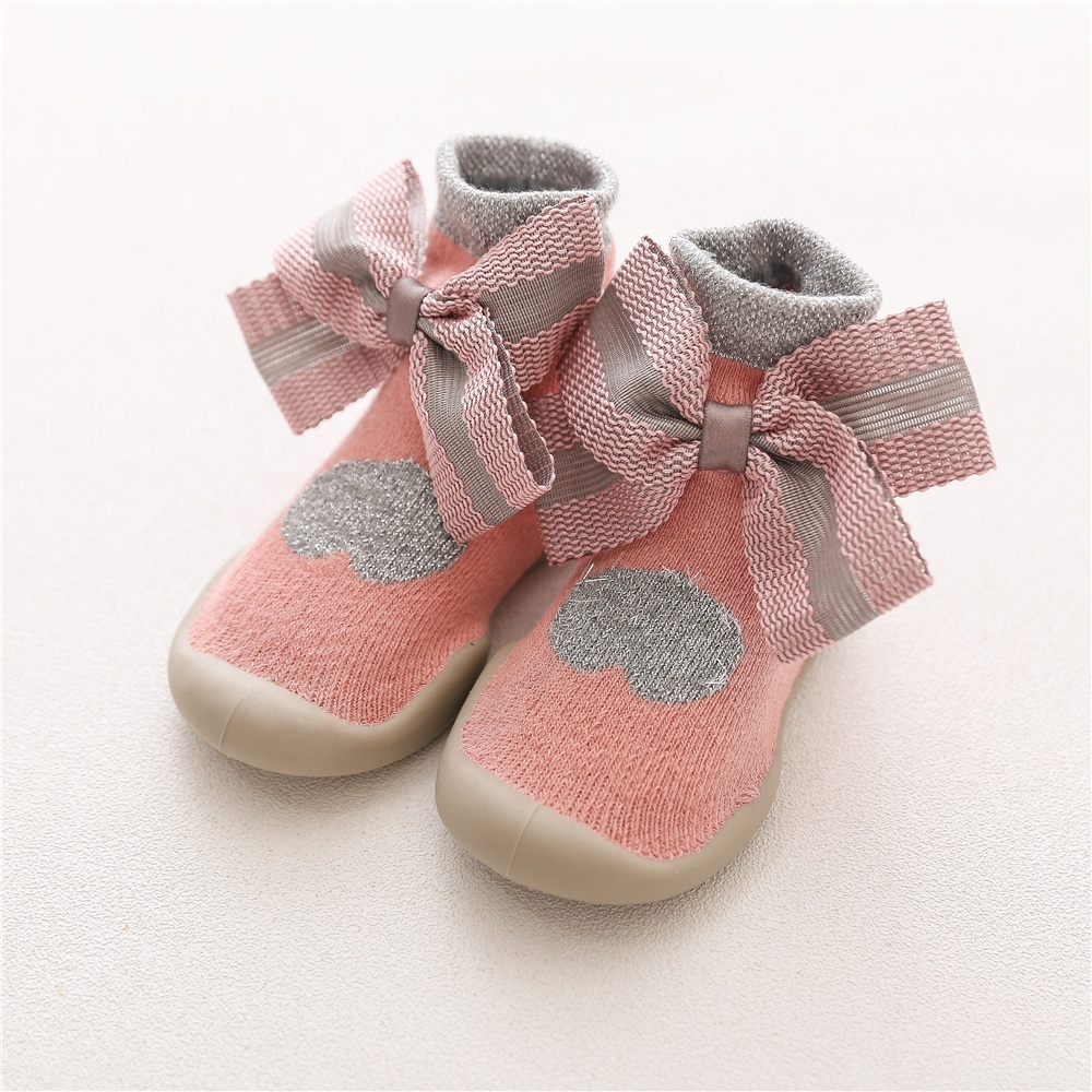 New Sequined Ribbon Cotton Bottom Shoes Big Dot Printing Bling Baby Girls Shoes Elastic Band Fashion Baby Walking Shoes Ample Supply And Prompt Delivery Mother & Kids