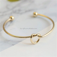 gold stainless steel open screw bangle bracelet cuff love bracelet