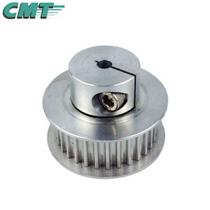 Customized low price aluminium timing pulley gt2 pulley