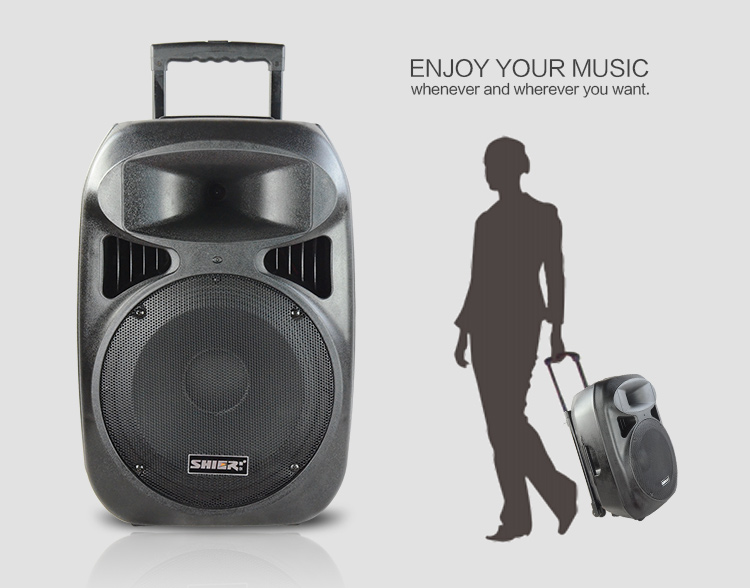 Portable Active Pa Speaker With 12v/7a Rechargeable Battery,High ...