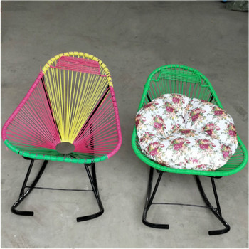 Outstanding Outdoor Portable Leisure Steel Rattan Acapulco Chair Egg Shaped Wicker Dining Chair Buy Rattan Chair Wicker Chair Wicker Dining Able Product On Camellatalisay Diy Chair Ideas Camellatalisaycom