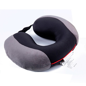 Comfortable U shape airplane car neck headrest memory foam travel neck pillow