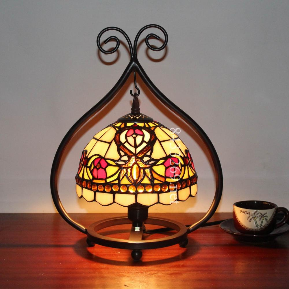 Wholesale Tiffany Style Mini Night Light Stained Glass