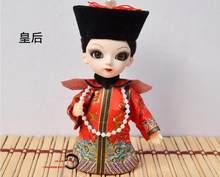 15 см Мультфильм lol куклы Q версия маска Пекинской оперы кукла с китайскими характеристиками шелковые народные куклы детские игрушки(Китай)