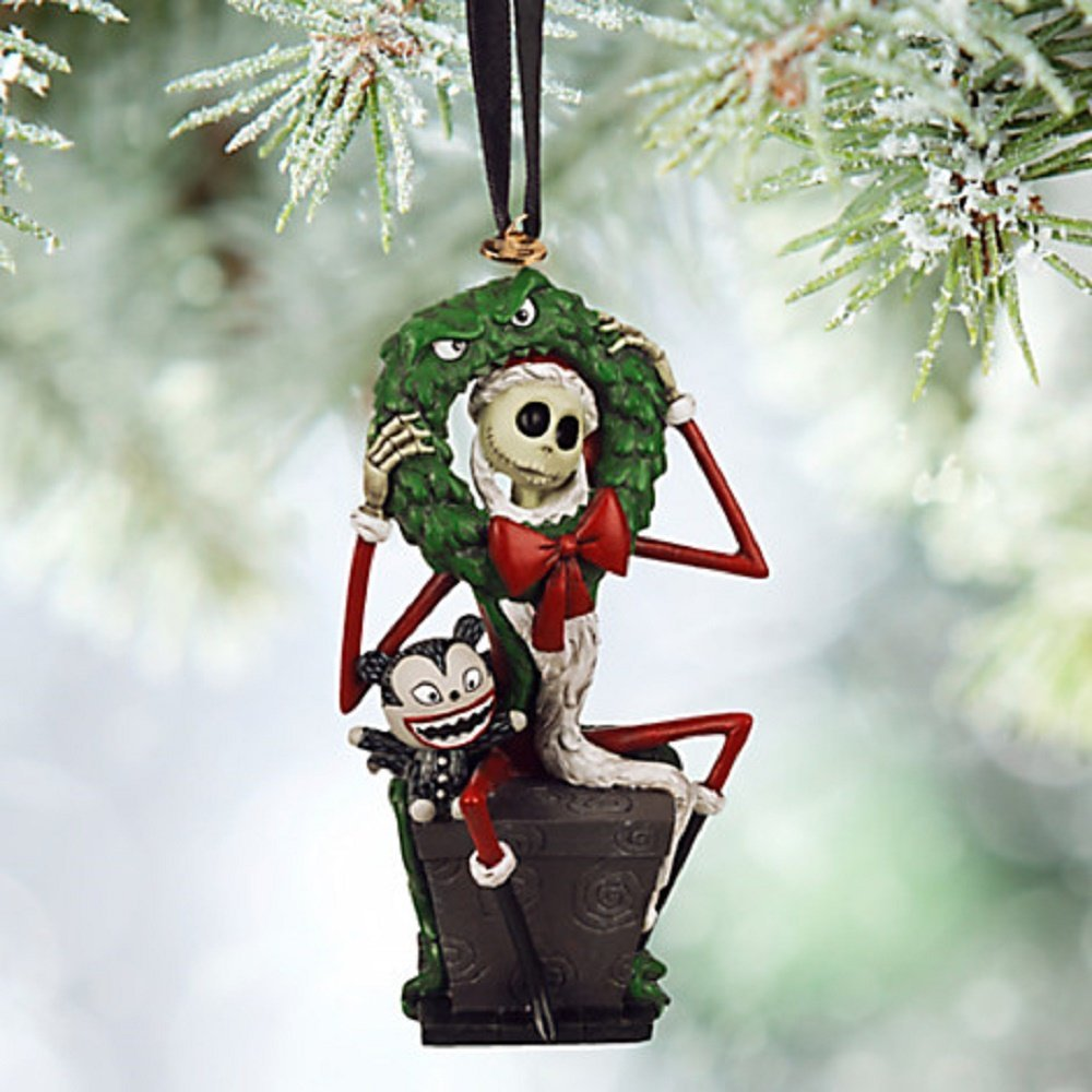 Buy Disney Nightmare Before Christmas Scary Teddy on Coffin Bobble ...