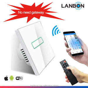 Smart wifi wall switch energy saving switch with LED indicator for remote control and local control