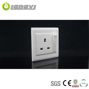 PC Faceplate Wall Socket OEM Brand 13A Socket with Switch