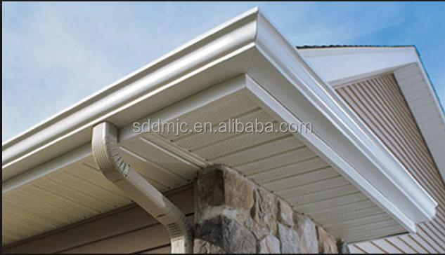 Techo de pl stico de drenaje de cobre techos materiales de - Canalones de plastico ...