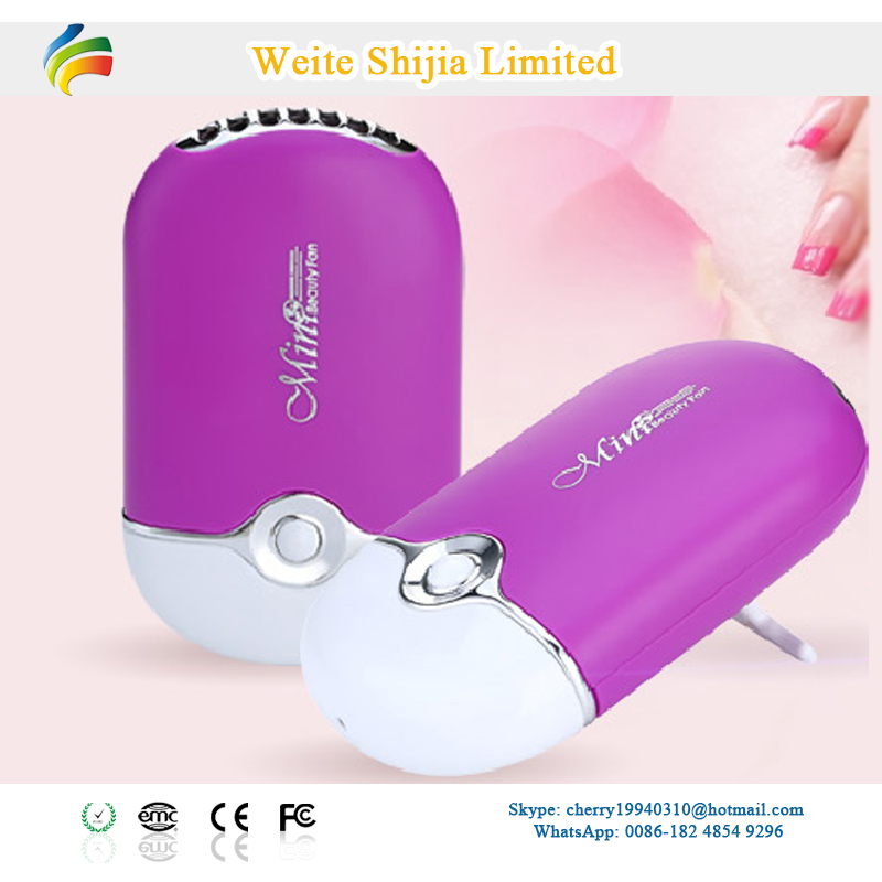 Rechargeable Air Cooler Fan For Eyelashes Extension
