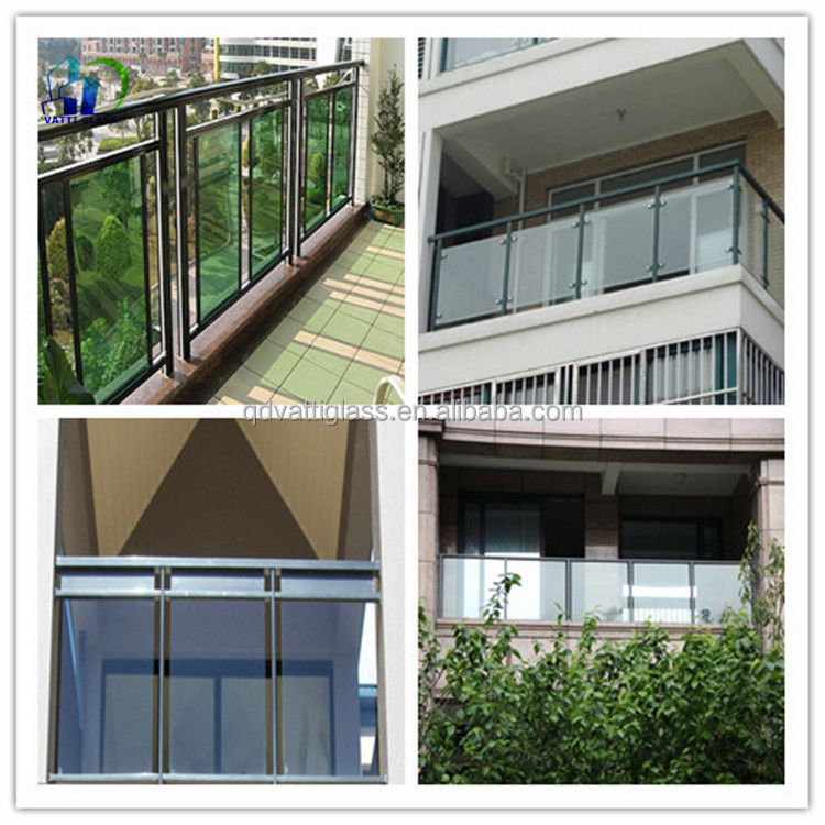 balcony veranda tempered glass mm large size tempered glass panel closed  balcony glass with veranda glass