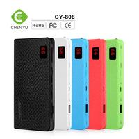 8000mAh Electronic battery charger, Portable power bank for mobile power supply, Universal USB Power bank Charger