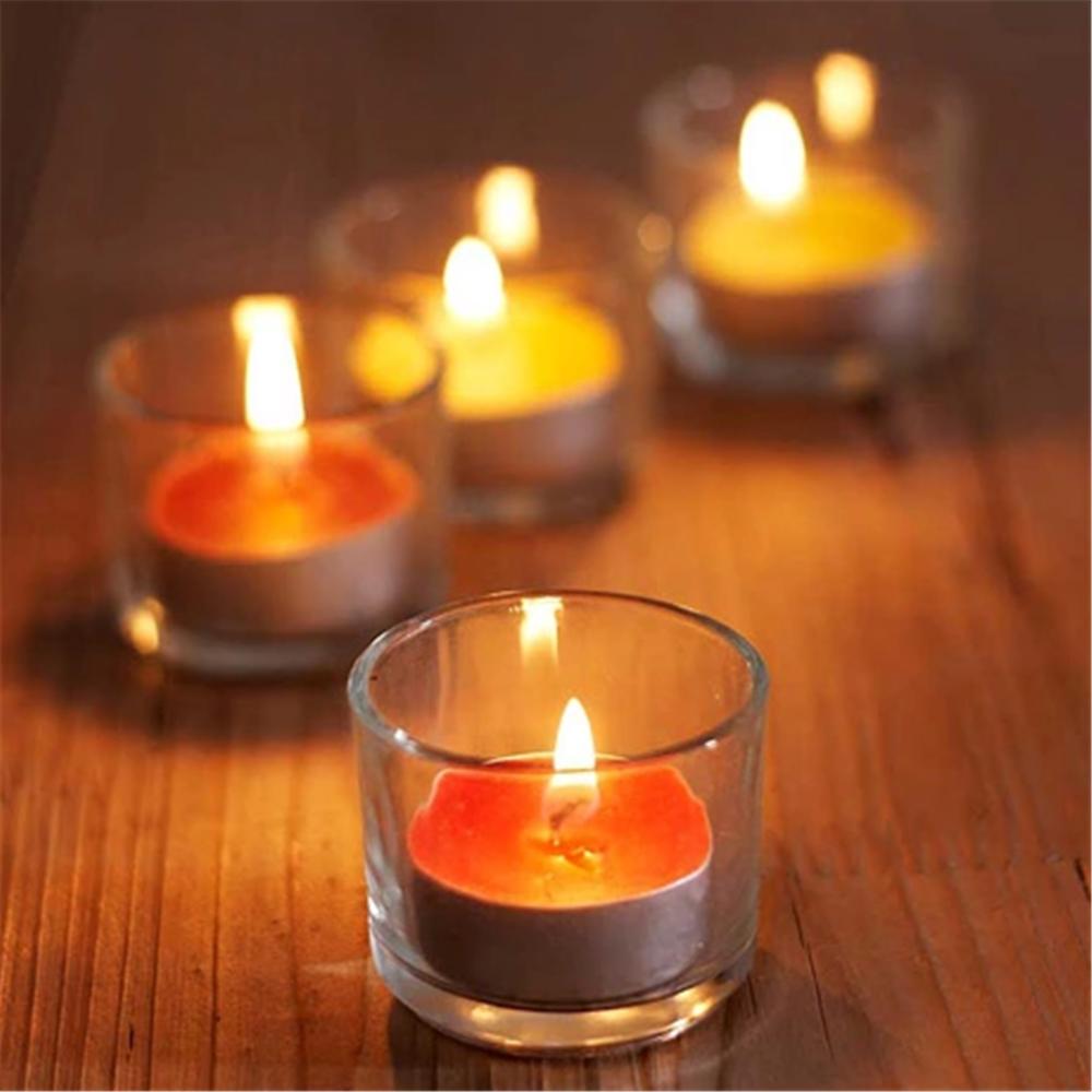 feuer glas kerzen wachs glas kleine runde glas wachs gie einrichtungen teelichthalter. Black Bedroom Furniture Sets. Home Design Ideas