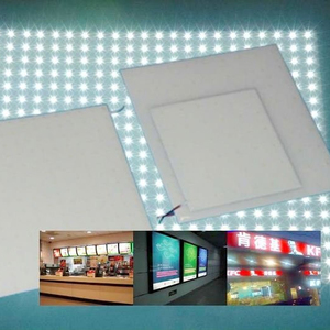 led backlit panel for poster lightbox display with 2 years warranty