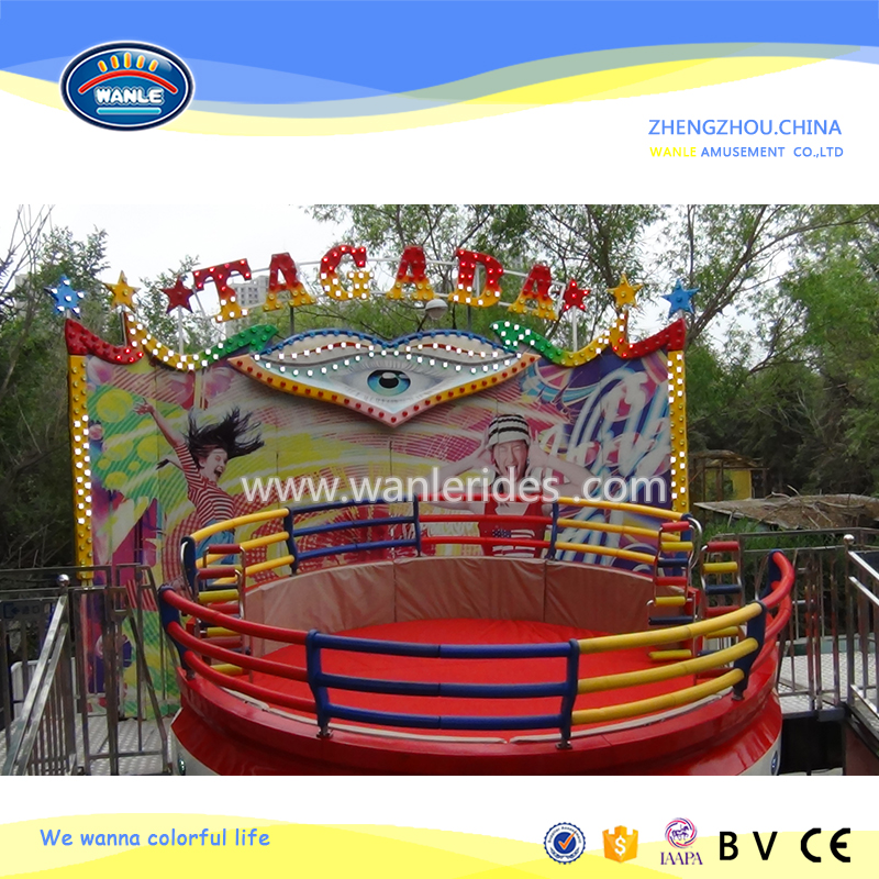 theme park amusement disco equipment ! fun family attraction disco tagada
