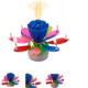 The most popular magic lotus cake flower birthday music candle