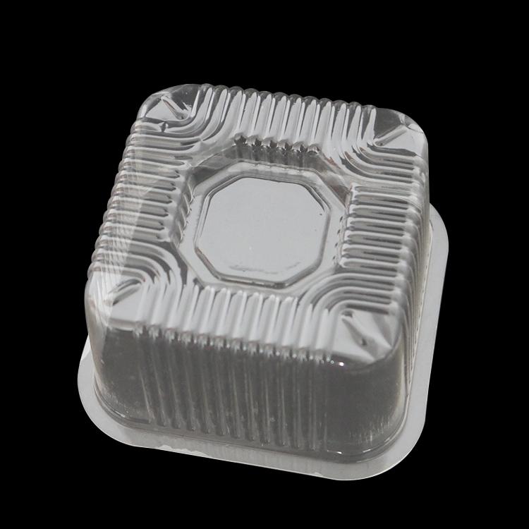 Limpar ou personalizar embalagens de alimentos biodegradável descartável almoço bandeja de espinafre e alface
