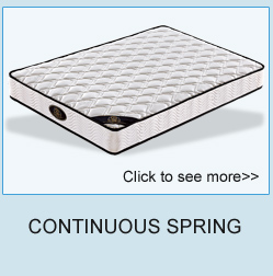 Wholesale factory price cheap continuous spring mattress