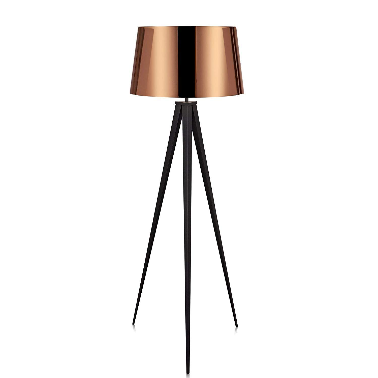 Get Quotations · Euro Style Collection Berlin Floor Lamp W/Fabric Lampshade  (Tall) Modern, Minimalist