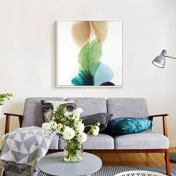 Wholesale New Fresh Plants Photo Canvas Printing Artwork Home Wall Decoration Ready To Hang