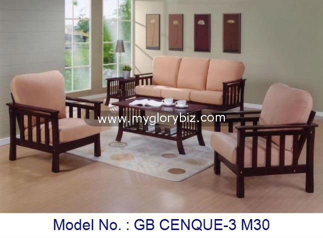 Wooden Arm Chair Sofa Set With Tables Malaysia,Wooden Sofa Furniture ...