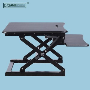 PCS500 Factory Price Amazon Hot Selling Scissor Structure Office MDF Steel Sit Stand Workstation Price