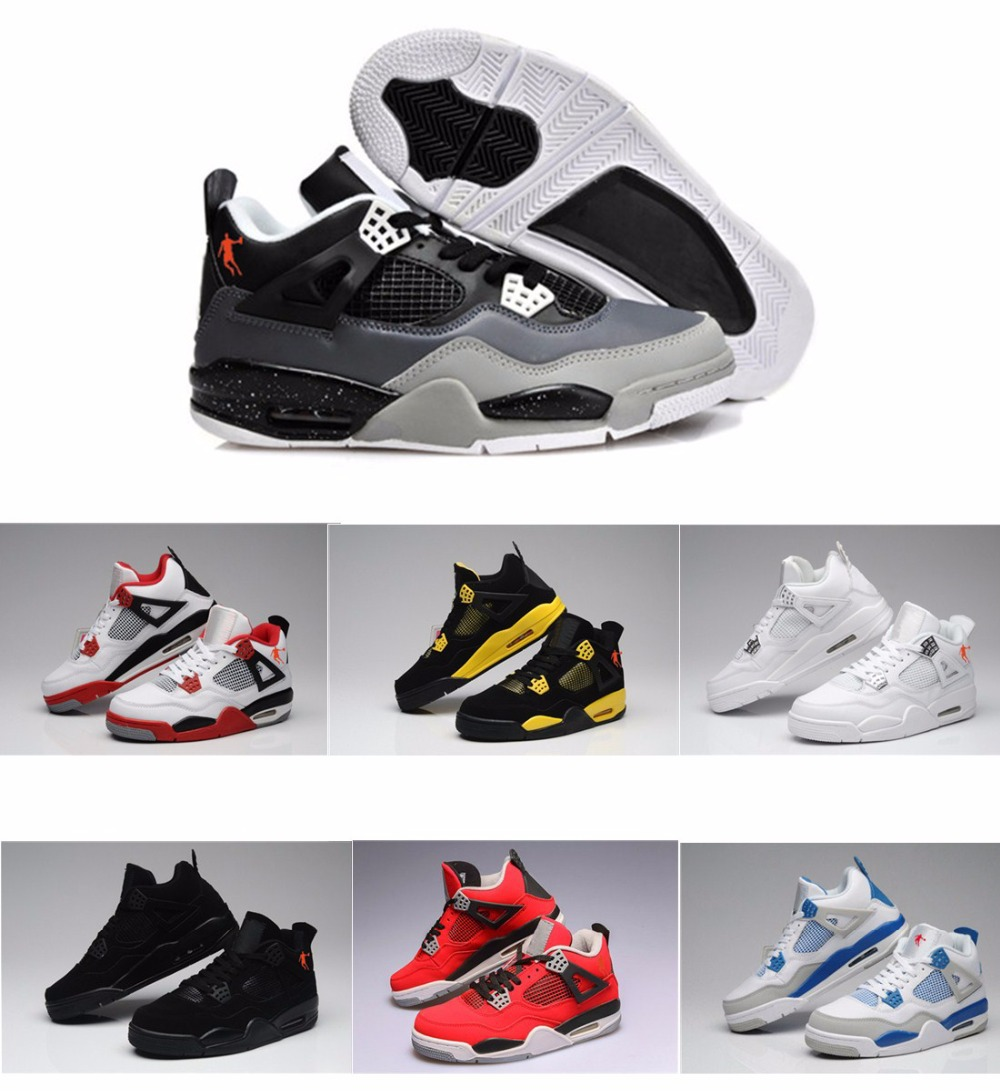 be6cbab8965c Free Shipping China Jordan 4 Oreo retro Columbia GS Basketball Shoes