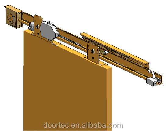 Semi Automatic Sliding Door Mechanism Buy Wood Steel Glass Door