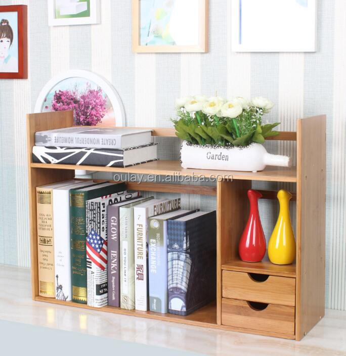 Eco Friendly China Bamboo Wooden Natural Shelf Bamboo Book Display Rack Bamboo Bookcase With Study Table Buy Bookcase With Study Table Book