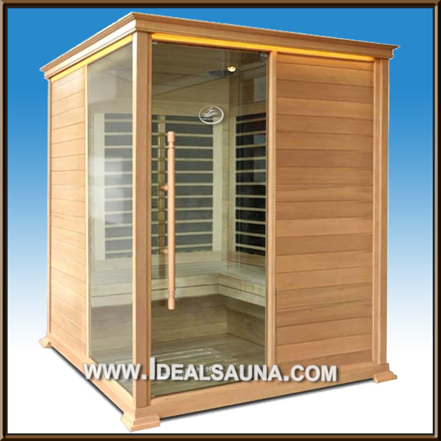 2014 hot sale cheap Prefab infrared sauna