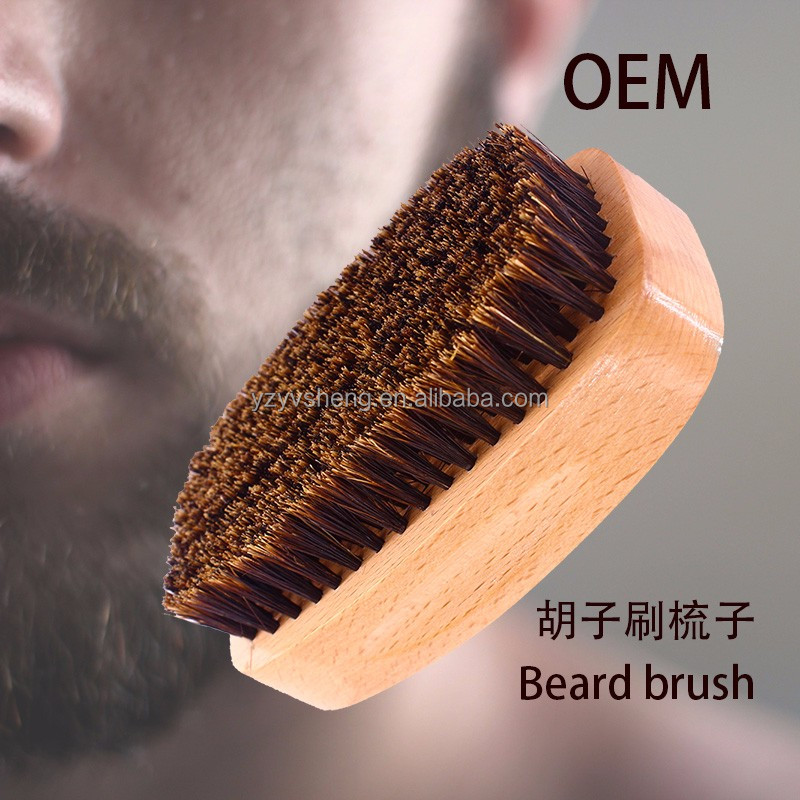 beard brush set Boar Bristle Brush Benefits Pure handmadeCare to comb