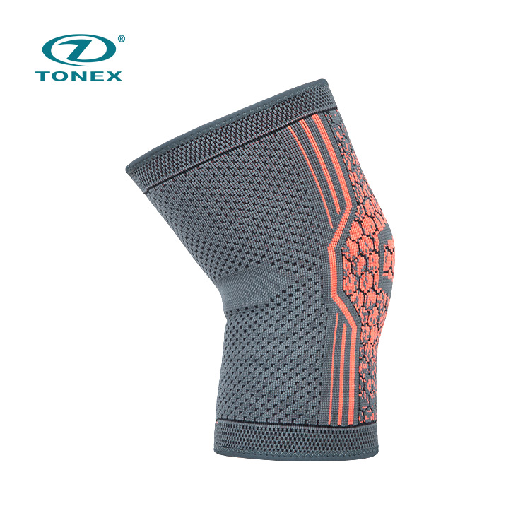 Manufacturer Supply Weight Lifting Knee Support Nylon Performance 7mm Knee Sleeve