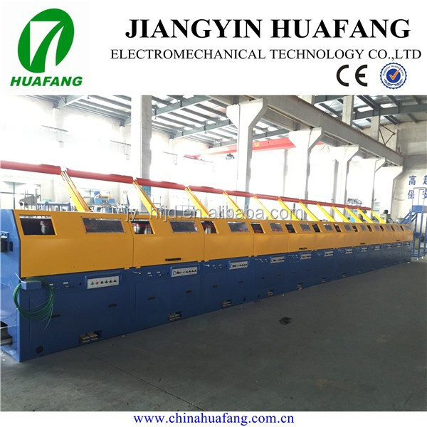 Straight line welding iron wire drawing machine/SS wire/PLC