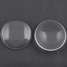 Wholesale Transparent Clear 12mm Dome Glass Cabochons for Jewelry making