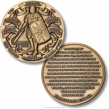 <span class=keywords><strong>Armadura</strong></span> <span class=keywords><strong>de</strong></span> <span class=keywords><strong>Deus</strong></span> em Alto Relevo Challenge Coin