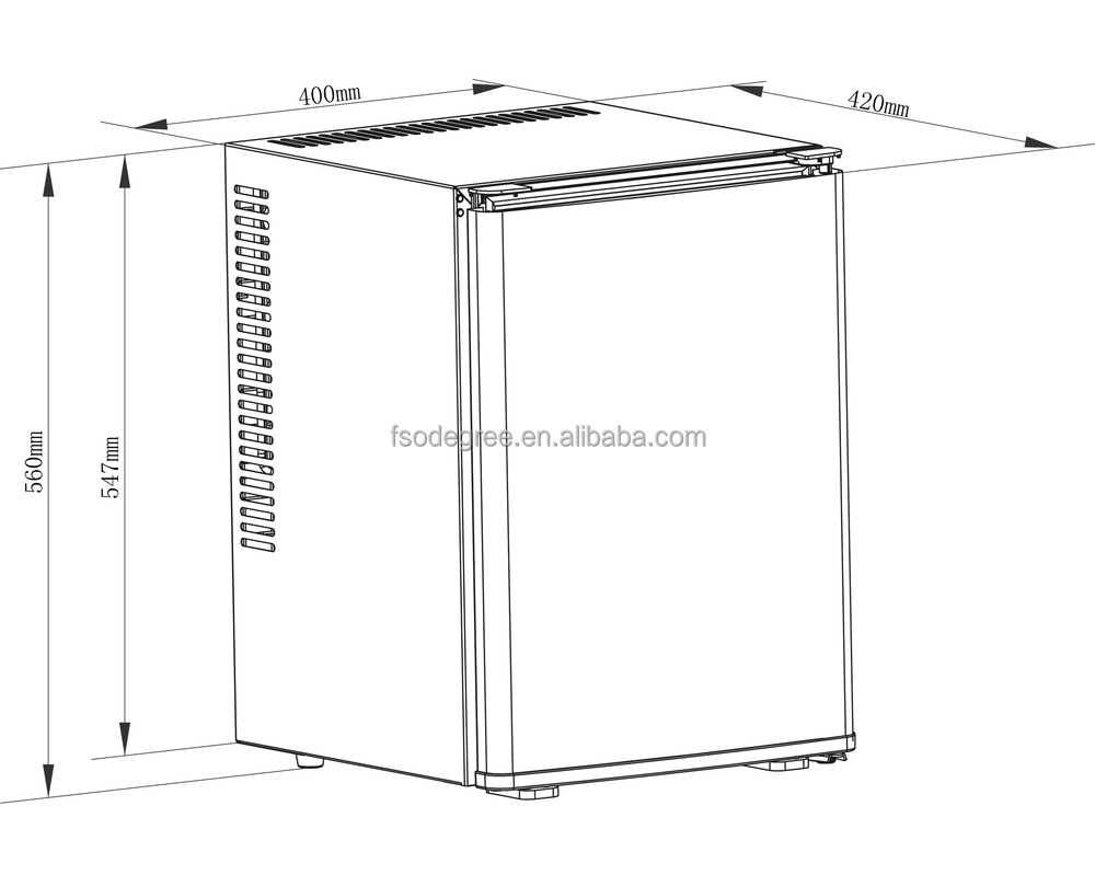 cb 40sa 40l semi condenser minibar semi condenser mini bar. Black Bedroom Furniture Sets. Home Design Ideas